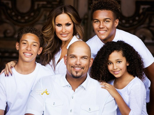 David Justice and Family
