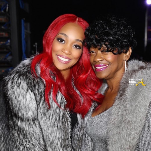 Monica and Yo Gotti's Mom - Code Red Tour 2