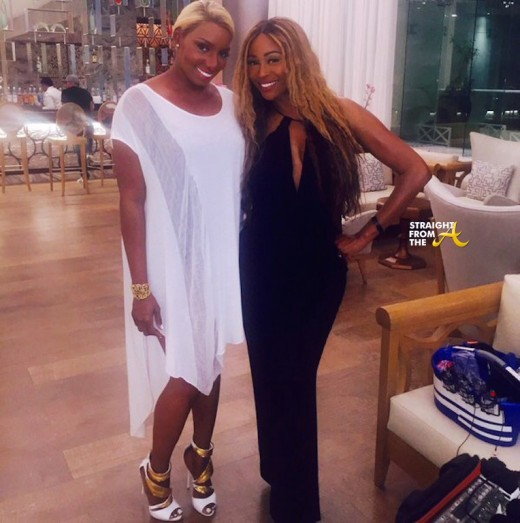 Nene Leakes and Cynthia Bailey 1