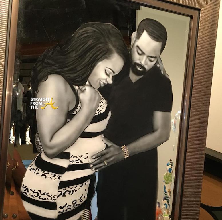 Bow Wow Shai S Daddy Daughter Dance Goes Viral Video: Kandi Baby Shower 2015 Sfta-17
