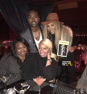 Michelle Brown B. Maloof Nene Leakes Cynthia Bailey Broadway