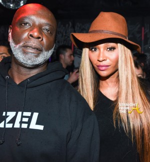Peter Thomas Cynthia Bailey RHOA Art Basel 2015