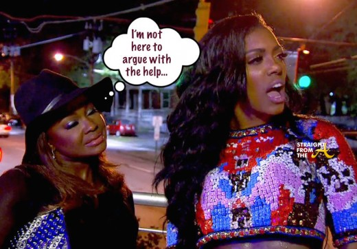 Phaedra Parks Porsha Williams