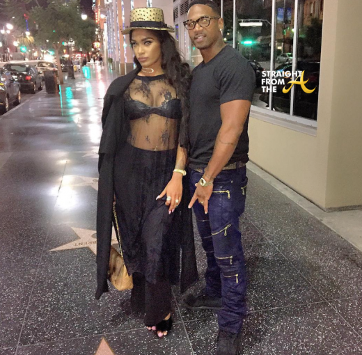 Stevie J and Joseline Hernandez Hollywood 1