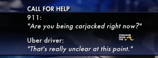 Uber call for help SFTa