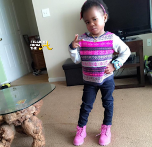 Young Thug's Daughter
