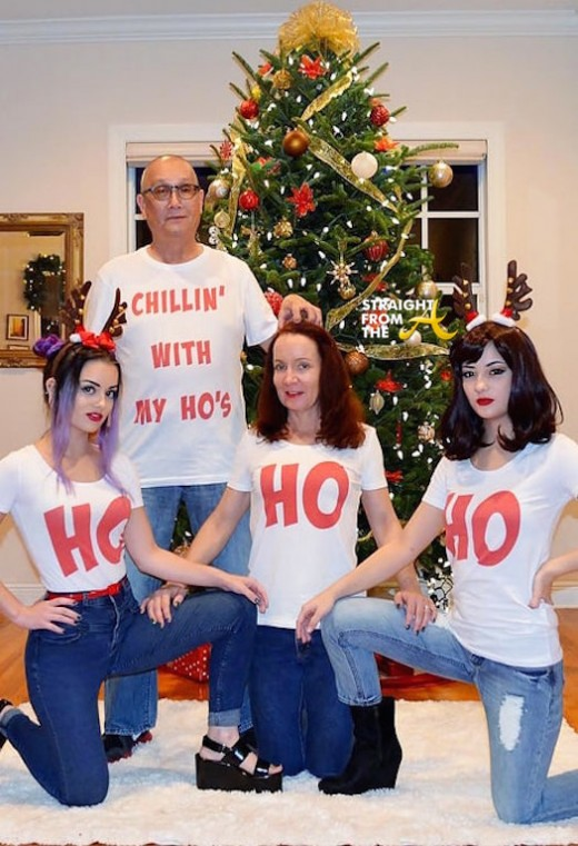 yoshia family Ratchet Christmas Card 2