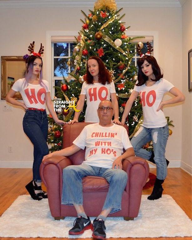 funny or nah ho ho ho family christmas card goes viral photos