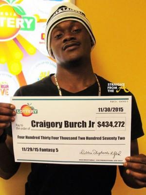Craigory Burch Jr. Georgia Lotter