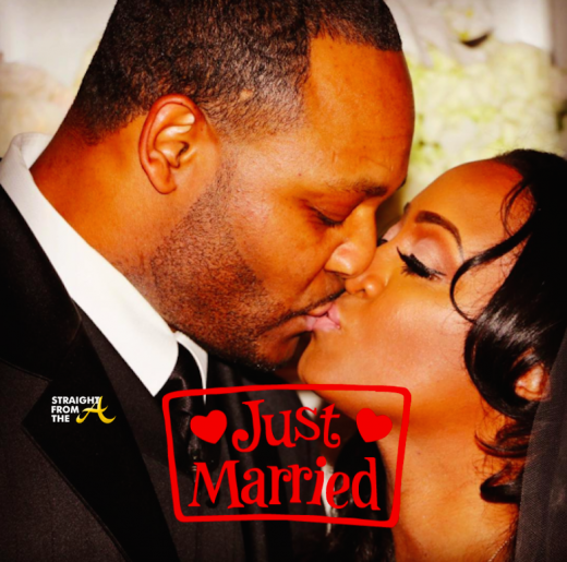 Ed Hartwell Keshia Knight Pulliam Married Wedding Day