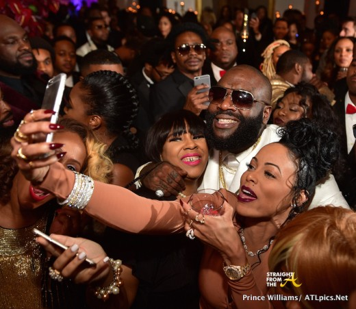 Rick Ross Selfies