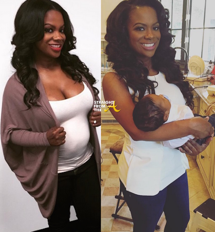 Before & After: #RHOA Kandi Burruss Reveals Post-Baby ...