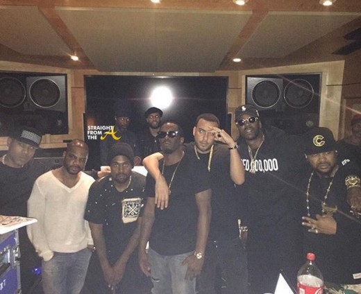 Kanye-West-Hit-the-Studio-With-Andre-3000-2-Chainz-Kid-Cudi