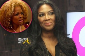 Kenya Moore Kim Fields