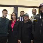 Killer Mike, Usher & Jermaine Dupri Kick Start #BlackHistoryMonth By Banking Black… [PHOTOS + VIDEO]