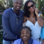 Ne-Yo Crystal Renay and her Grandmother 2
