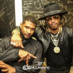 Club Shots: ATLiens Usher, Future Party With Chris Brown in Miami… [PHOTOS]