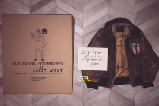 saint west gift from Ralph Lauren
