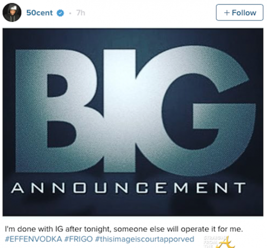50 cent quits instagram-2