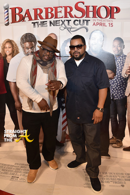 Cedric The Entertainer and Ice Cube - 2