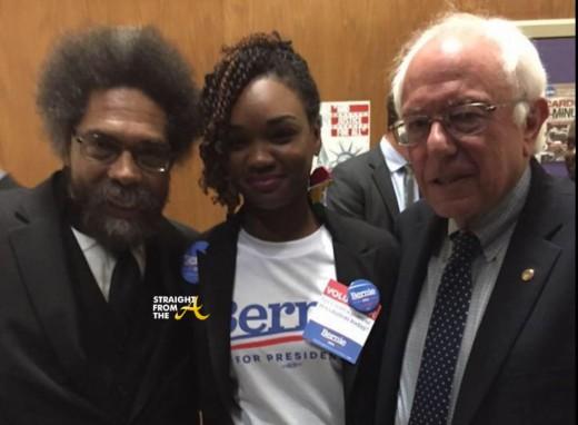 Cornell West Bernie Sanders 2016