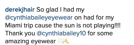 28027b5c76 WATCH THIS!  RHOA Cynthia Bailey s Completed Eyewear  Mercial… (Full ...