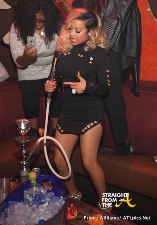 Party Pics: Keyshia Cole Hosts Atlanta's Aroma Lounge ...