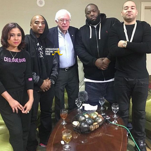 Killer Mike Bernie Sanders The Breakfast Club