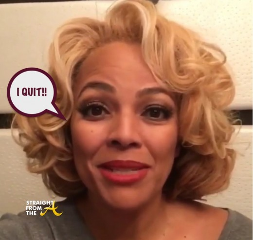 Kim Fields Quits RHOA 1