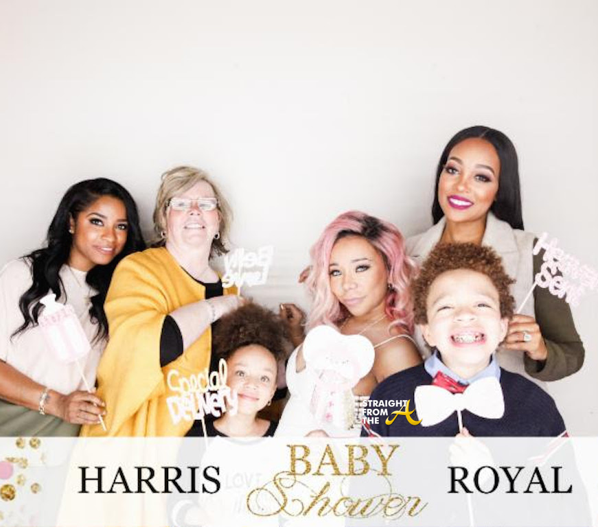 Ti Tiny Harris Celebrate Baby Shower With Family Friends Tip