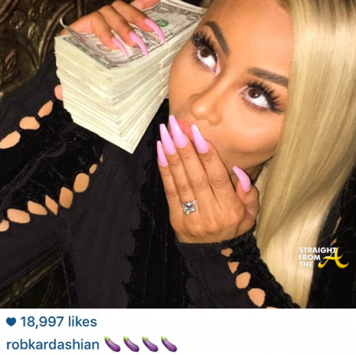 Blac Chyna Rob Kardashian Engaged 8