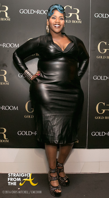 Kelly Price arrives