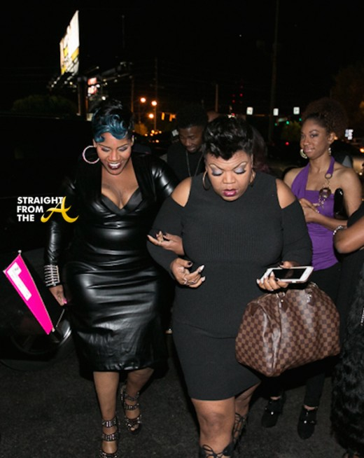 Kelly Price escorted by Gabby Jones