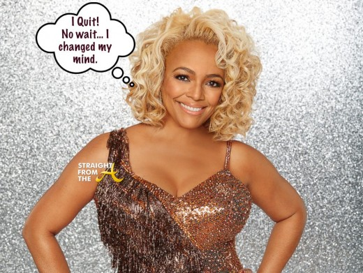 Kim Fields DWTS RHOA