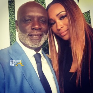 Peter-Thomas-and-Cynthia-Bailey-at-Debra-L.-Lees-Pre-BET-Awards-Dinner-on-June-24-2015-
