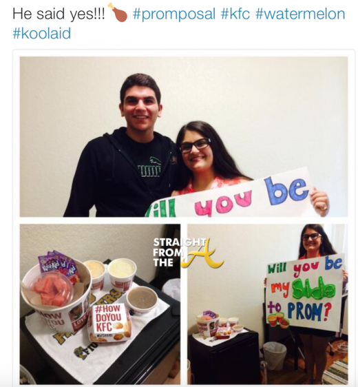Racist Prom Proposal 2016 2