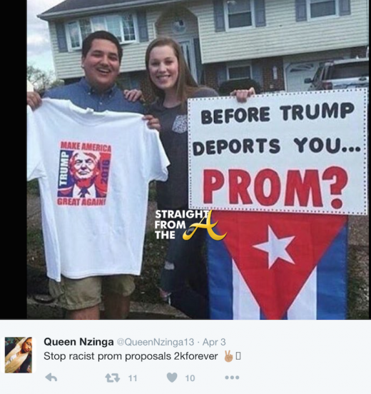 Racist Prom Proposal 2016 4
