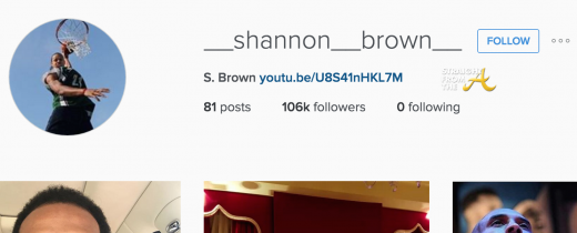Shannon Brown IG