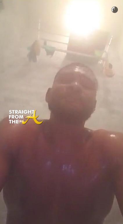 Usher Steamy Snapchat 1