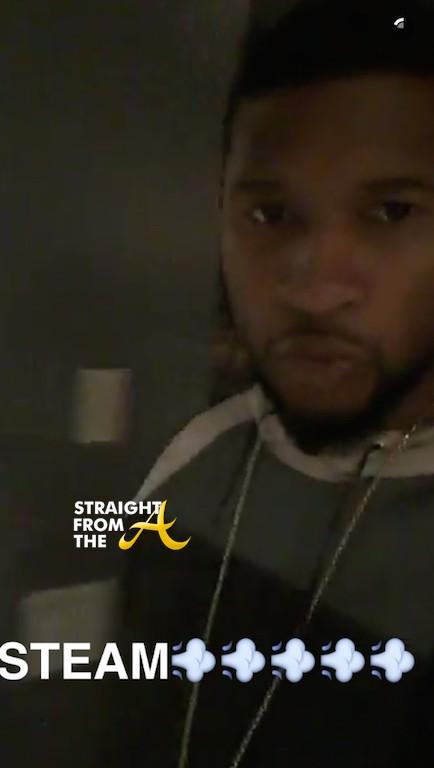Usher Steamy Snapchat 3