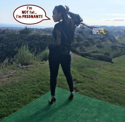 Angela Simmons Pregnant 5