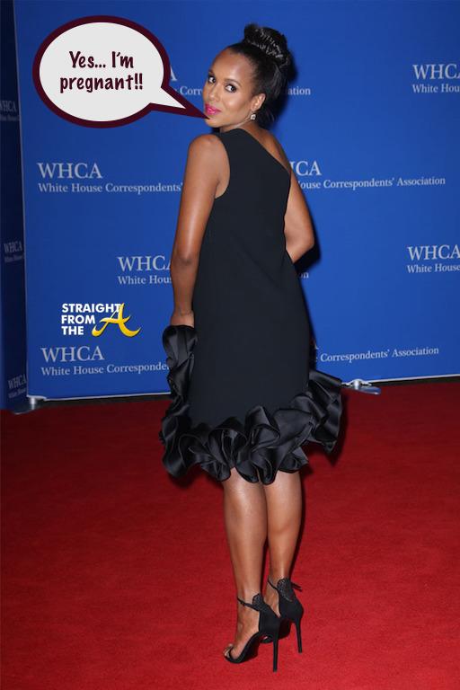 Kerry Washington Pregnant 2016 3