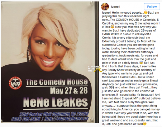 Leunell vs Nene Leakes 2016