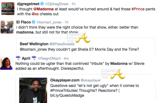 Madonna Tweets