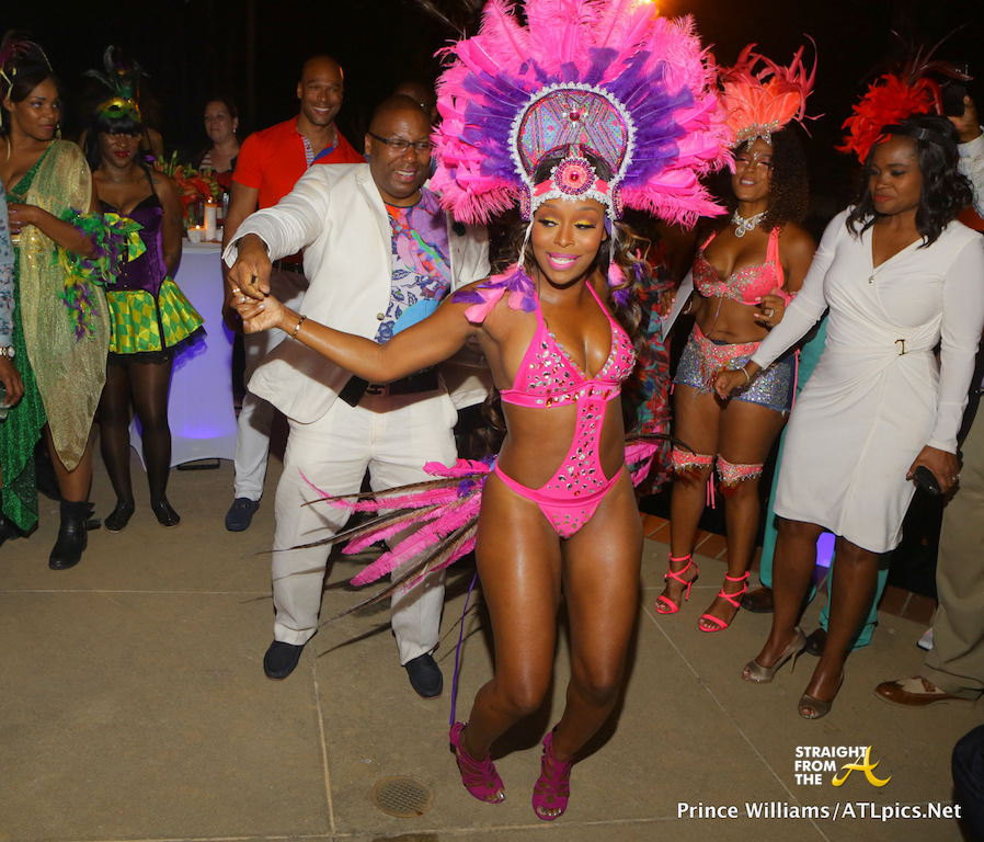 Quad Dance Party Pics Webb Lunceford Hosts Carnival Themed Birthday Bash Photos Video Straight From The Sfta Atlanta Entertainment Industry Gossip
