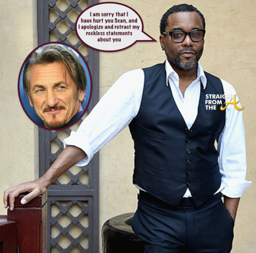 lee daniels sean penn apology
