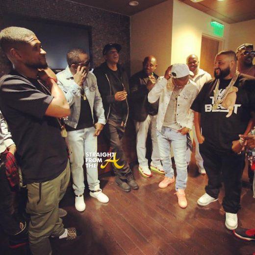 Usher Diddy Jay-Z Steve Stoute T.I. Khalid
