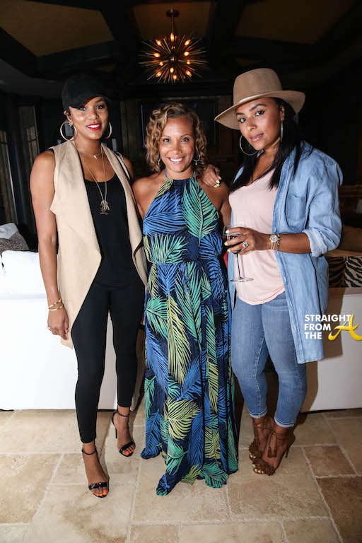 LeToya Luckett, Heather Packer, Eudoxee Bridges