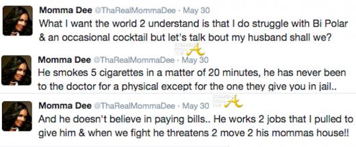 Momma Dee Tweets