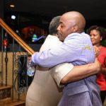 Will & Ambassador Young Hug